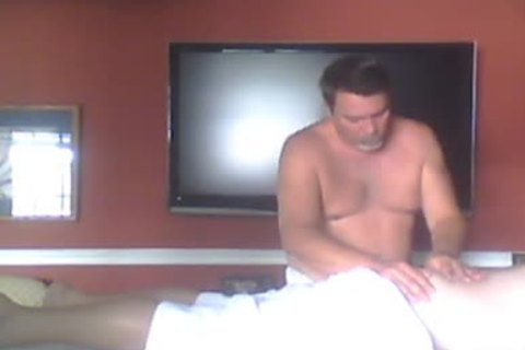 This lad Drove From Miles Away To Experience A Relaxing Full Body Rubdown.