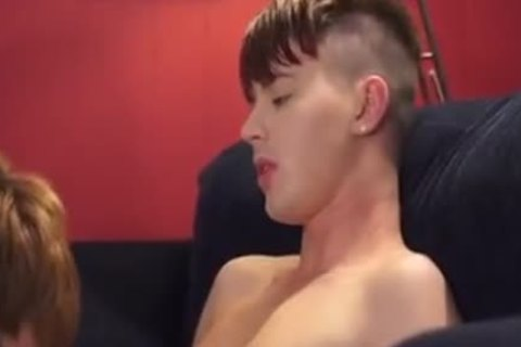 2 twinks plowing On The Sofa