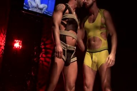 Francois Sagat And Hunter Marx Rubber pound