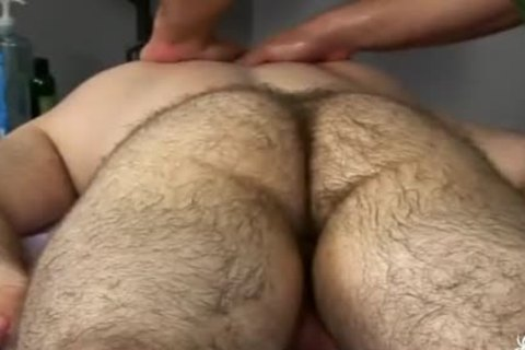 hairy Bear Body And Genital Massage two