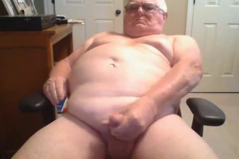 grand-dad stroke On webcam