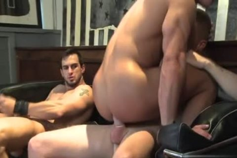 Muscle homosexual oral sex-sex And cock juice flow