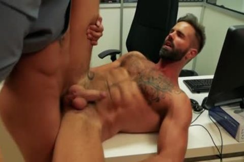 Muscle homo anal sex And cumshot