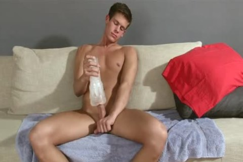 twink jerking off With Fleshlight